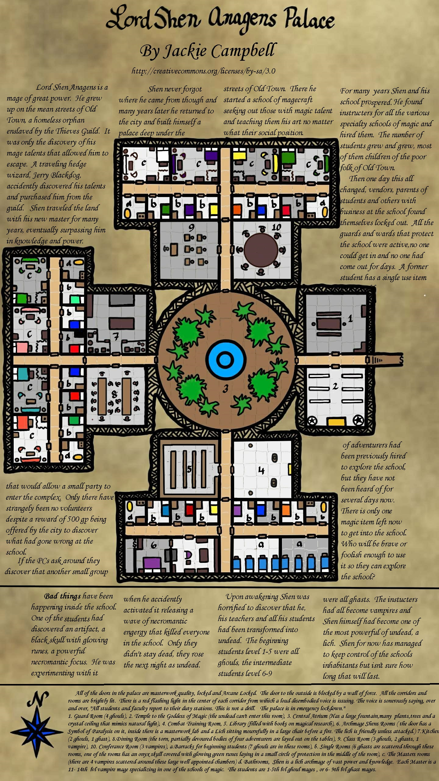 Campaign wiki dungeonmaps one page dungeon contest jackie campbell lord shen anagens palace fandeluxe Choice Image