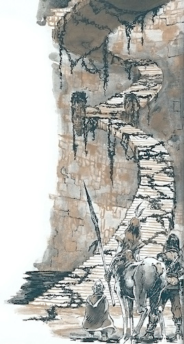 Bild der Ewigen Treppe