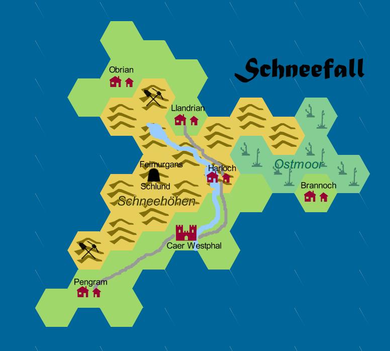 InselSchneefall