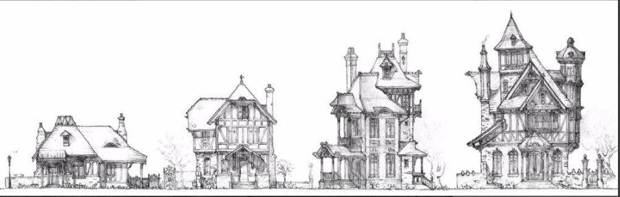 Barovia_houses