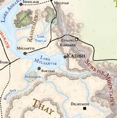 Kadish und Umgebung